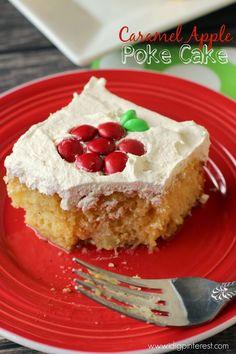 Caramel Apple Poke Cake: Let the Fall Recipes Begin!