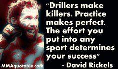 Drillers make killers.  I like it.