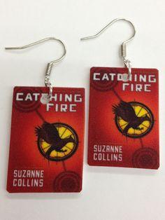 Catching fire earrings!!!