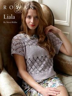 Liala sweater pattern from Rowan - free