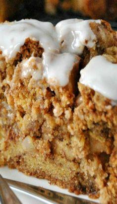 Apple Cake with Honey Glaze
