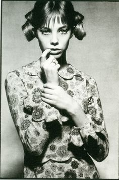 Jane Birken by David Bailey, 1964.