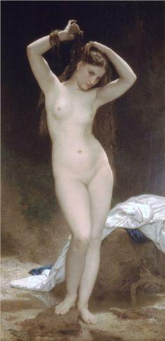 Baigneuse, 1870 - Bouguereau