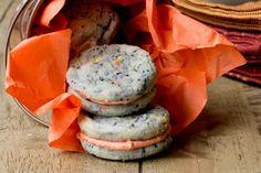 Mini Halloween Confetti Cookie Sandwiches | Tasty Kitchen: A Happy Recipe Community!