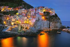 Manarola | 28 Towns In Italy You Won't Believe Are Real Places