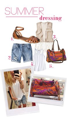 1. we love these Huarache sandals + they come in black and pink $19.99 2. Wear this fringe vest over a tank or as a bathing suit cover up. $...