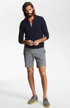 Ted Baker London Polo, BOSS Black V-Neck & Number:LAB Shorts