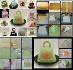 Purse mini cake