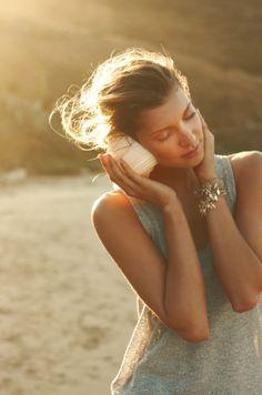 listen to the ocean...
