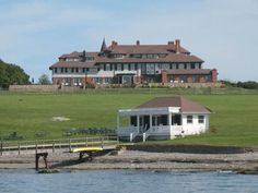 """Hammersmith Farm hosted Jackie and John Kennedy's wedding reception and was the """"Summer White House"""" during Kennedy's presidency. The boat house was featured in the film """"The Great Gatsby."""""""