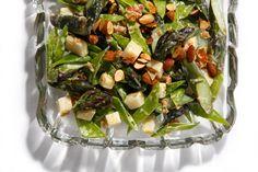 Patricia Wells's Crunchy Asparagus and Snow Pea Salad
