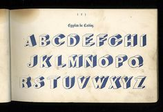 """""""Examples of Modern Alphabets, Ornamental and Plain"""" - 1864"""