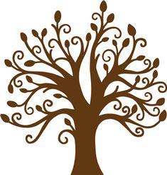 Silhouette Online Store: trista tree