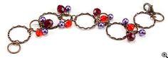 Jewelry Making Idea: Havana Nights Vintage Bracelet (eebeads.com)