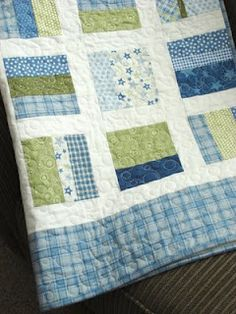 Baby quilt great colors