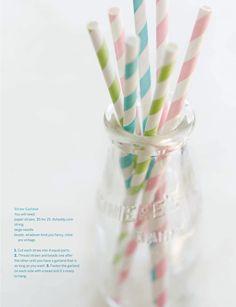 Paper Straw Garland, Sweet Paul