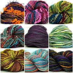 Great gift for a knitter or crocheter - the Kitty Grrlz Surprise HandSpun Yarn of the Month club! OMG I WOULD LOVE THIS GIFT!!!!!