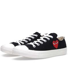 CDG | Play Comme des Garcons Play x Converse All Star Ox #cdg #converse #sneakers