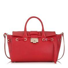 The Jimmy Choo Rosa Handbag in Cherry