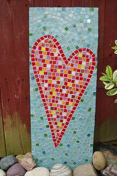 Mosaic Heart Art – Happy Valentine's Day!