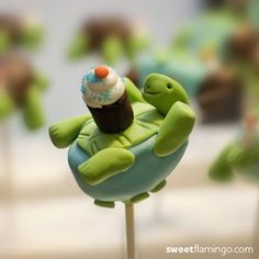#turtle #cakepop