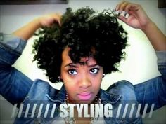 Natural Hair   My Flat Twist Out