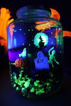 Halloween Crafts for Kids: Make a Glow-in-the-Dark Terror-arium