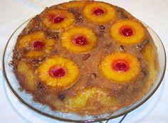 Skillet Pineapple Upside Down Cake: Pineapple Upside-Down Cake