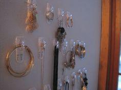 Jewelry on Hooks