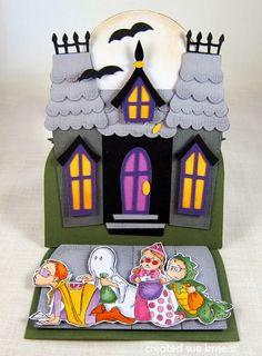 Sue's Stamping Stuff: Haunted House and Art Impressions Trick-or-Treaters