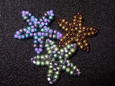 Free Beading Pattern - Beaded Starfish featured in Bead-Patterns.com Newsletter!