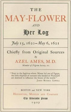 The Mayflower Ship's Log Book