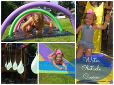 water obstacle course activity