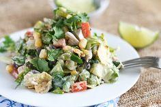 Southwest Chicken Chopped Salad - looks so yummy!