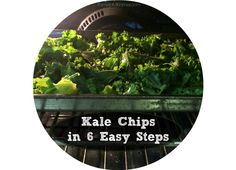 Try this recipe for that added kick! Kale Chips in 6 easy steps it takes about 15 minutes to prepare. Super simple and tasty.