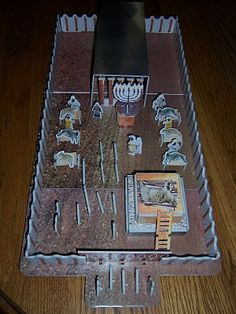 Sunday school tabernacle on pinterest bible activities for Building the tabernacle craft