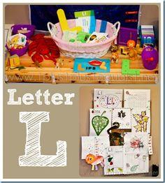 Home #Preschool Letter L