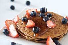 Buckwheat Apple-Cardamon Pancakes  sub flax or psyllum for egg and it's vegan!