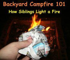 Backyard Campfire 101