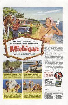 1953 MICHIGAN Ad