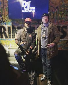 Dough From Da Go and artist/producer Corey Ether @ the #DefJam #Undisputed Docuseries Viewing & Listening Session Held @ Drink Haus Chicago