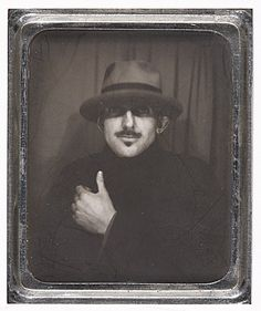 Ansel Adams self-portrait, 1936