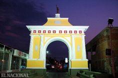 Arco de la Federación en Santa Ana de Coro, Edo. Falcón, Venezuela