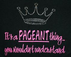 Pageant world :)