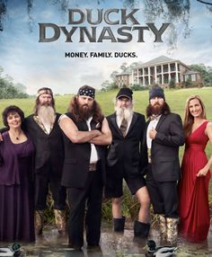 Duck Dynasty...my new guilty viewing pleasure on A & E