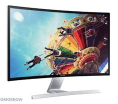 "Samsung Announces Curved 27"" HD Monitor  ... see more at InventorSpot.com"