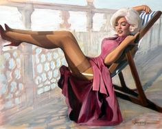 Jerry Rulf: Pin Up and Cartoon Girls