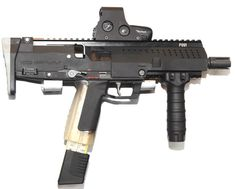 STKinetics CPW submachine gun - Compact Personal Weapon (Singapore)