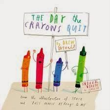 The Classroom Bookshelf: The Day the Crayons Quit - Book review and activities