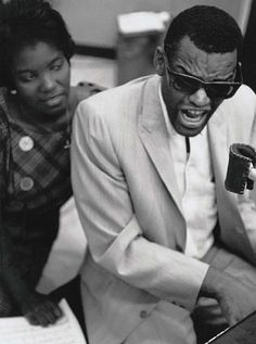 Ray Charles by William Claxton